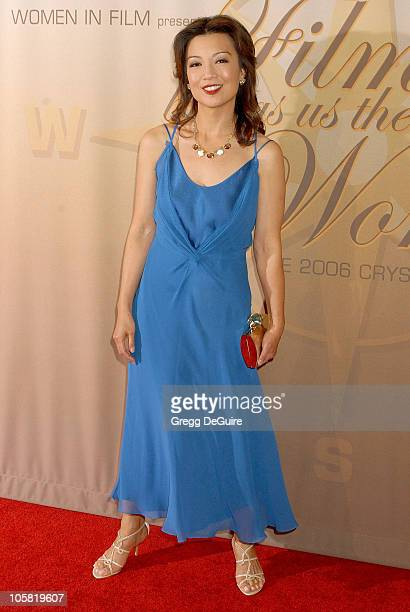 Ming Na during 2006 Women In Film Crystal + Lucy Awards - Arrivals at Century Plaza Hotel in Century City, California, United States.