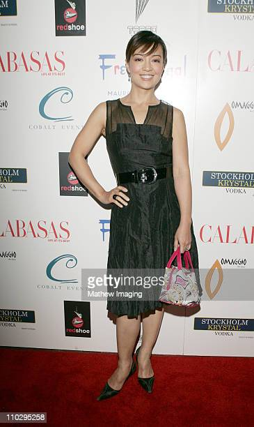 Ming Na during Calabasas Magazine Celebrates 2 Years at Fred Segal Mauro Cafe in Los Angeles California