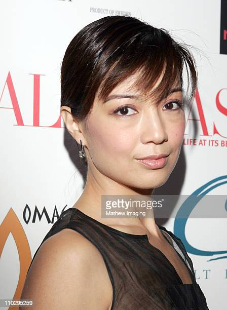 Ming Na during Calabasas Magazine Celebrates 2 Years at Fred Segal Mauro Cafe in Los Angeles, California.