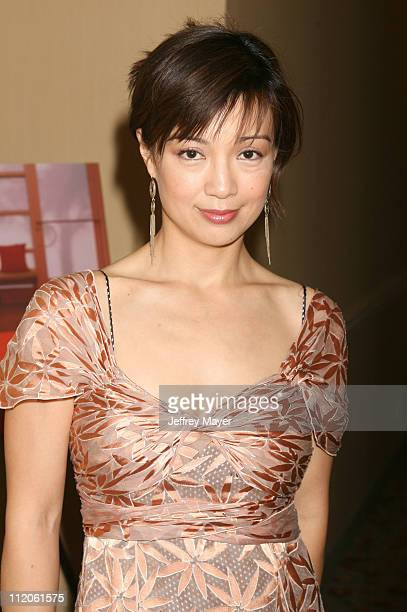 Ming Na During Jayneoni S Premtv Movie Awards Birthday And Fashion Bash At Park Hyatt Hotel In