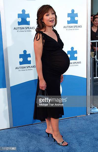 Ming Na during Jerry Seinfeld and Paul Simon To Perform One Night Only A Concert for Autism Speaks Arrivals at Kodak Theater in Hollywood California...