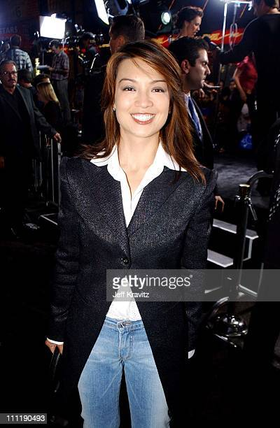Ming Na during The Tuxedo Premiere at Mann's Chinese in Hollywood California United States