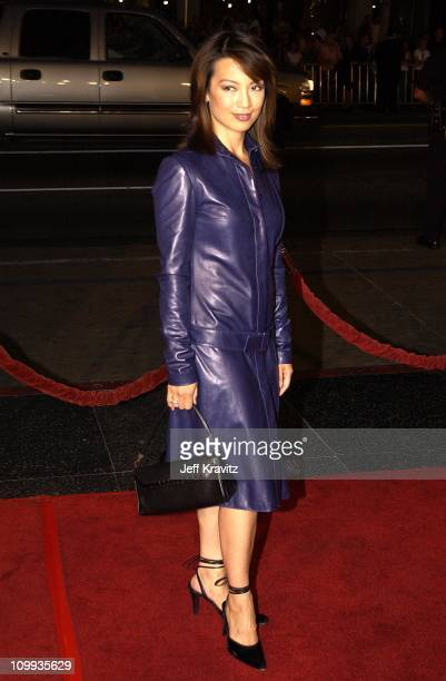 Ming Na during White Oleander Premiere at Mann Chinese Theater in Hollywood California United States