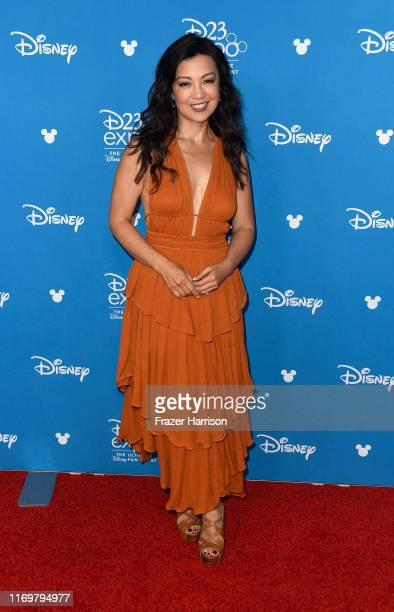 Ming NaWen attends D23 Disney Legends event at Anaheim Convention Center on August 23 2019 in Anaheim California