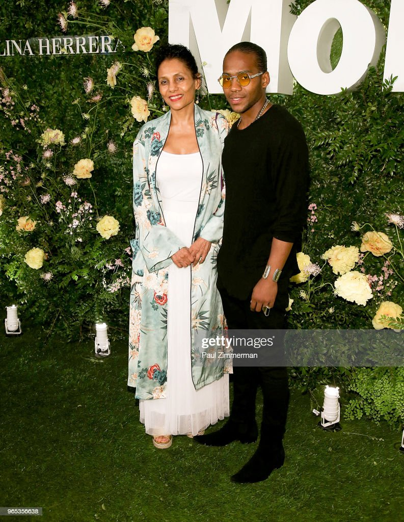 Ming Smith and Mingus Murray attend the 2018 MoMA Party In The Garden at Museum of Modern Art on May 31, 2018 in New York City.