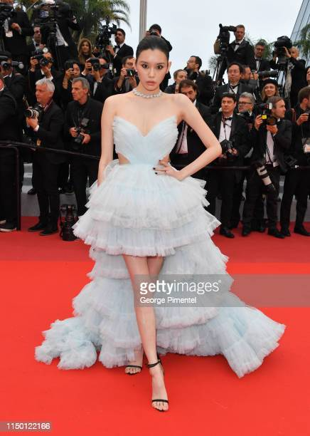 Ming Xi attends the screening of Les Plus Belles Annees D'Une Vie during the 72nd annual Cannes Film Festival on May 18 2019 in Cannes France