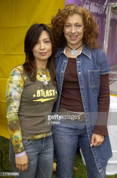 MingNa and Alex Kingston at The Target A Time for Heroes Celebrity Carnival Benefitting the Elizabeth Glaser Pediatric AIDS Foundation