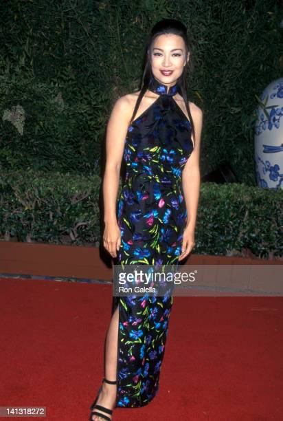 MingNa at the Premiere of 'Mulan' Hollywood Bowl Hollywood