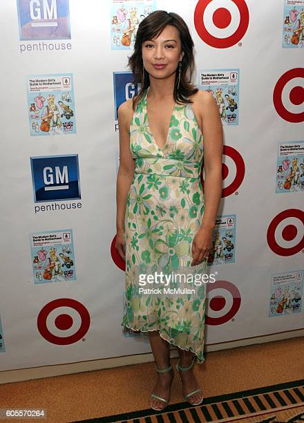 MingNa attends Target Celebrates Author Jane Buckingham's The Modern Girl's Guide to Motherhood at Regent Beverly Wilshire Hotel on May 3 2006 in...