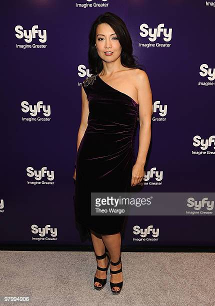 MingNa attends the 2010 Syfy Upfront party at The Museum of Modern Art on March 16 2010 in New York City