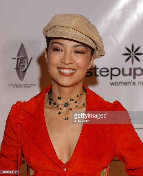 MingNa during An Evening of Fashion and Music Presented by Step Up Women's Network and Lexus Arrivals at Jim Henson Studios in Los Angeles California...