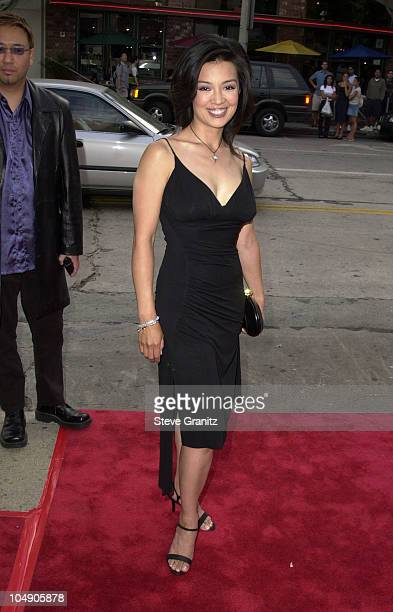 Ming-Na during Final Fantasy: The Spirits Within Premiere at Mann Bruin Theatre in Westwood, California, United States.