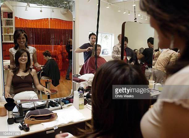 MingNa during Fred Segal Beauty Salon Spa Launch Day One at Fred Segal Beauty Salon Spa in Santa Monica California United States