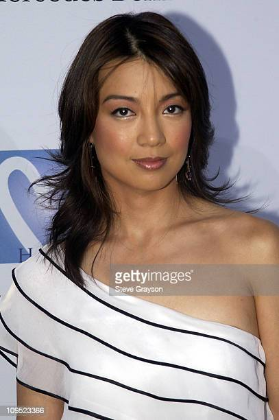 MingNa during Holly Robinson Peete Rodney Peete and Mercedes Benz Honor Muhammad Ali With The Designcure Award of Courage at Private Residence Encino...
