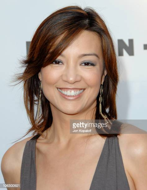 MingNa during Sixth Annual Chrysalis Butterfly Ball Arrivals at Home of Susan Harris Hayward Kaiser in Mandeville Canyon California United States