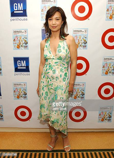 MingNa during Target Celebrates Author Jane Buckingham's The Modern Girl's Guide to Motherhood at Regent Beverly Wilshire Hotel in Beverly Hills...