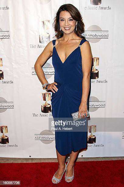 MingNa Wen arrives at the 40th Annual Annie Awards held at Royce Hall on the UCLA Campus on February 2 2013 in Westwood California