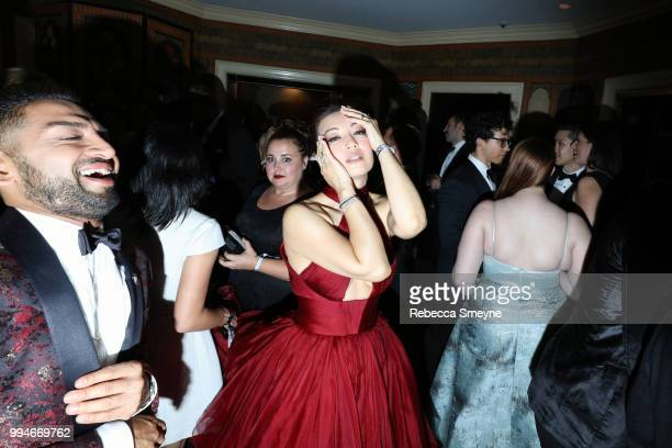 MingNa Wen at the 10th Annual OM Tony Awards party at the Carlyle on June 11 2018 in New York New York