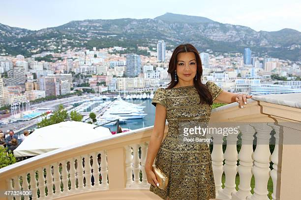 MingNa Wen attends Cocktail Reception at the Ministere d'Etat on June 15 2015 in MonteCarlo Monaco