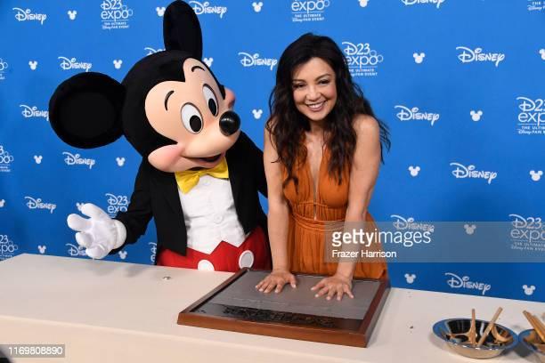 Ming-Na Wen, attends D23 Disney Legends event at Anaheim Convention Center on August 23, 2019 in Anaheim, California.