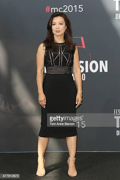 MingNa Wen attends photocall for 'Agent of SHIELD' at the Grimaldi Forum on June 16 2015 in MonteCarlo Monaco