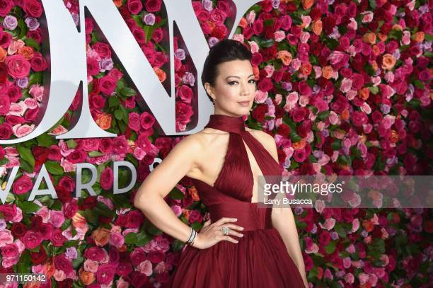 MingNa Wen attends the 72nd Annual Tony Awards at Radio City Music Hall on June 10 2018 in New York City