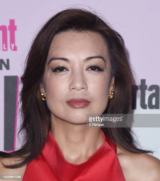 MingNa Wen attends the annual Entertainment Weekly ComicCon Celebration at Float at Hard Rock Hotel San Diego on July 21 2018 in San Diego California