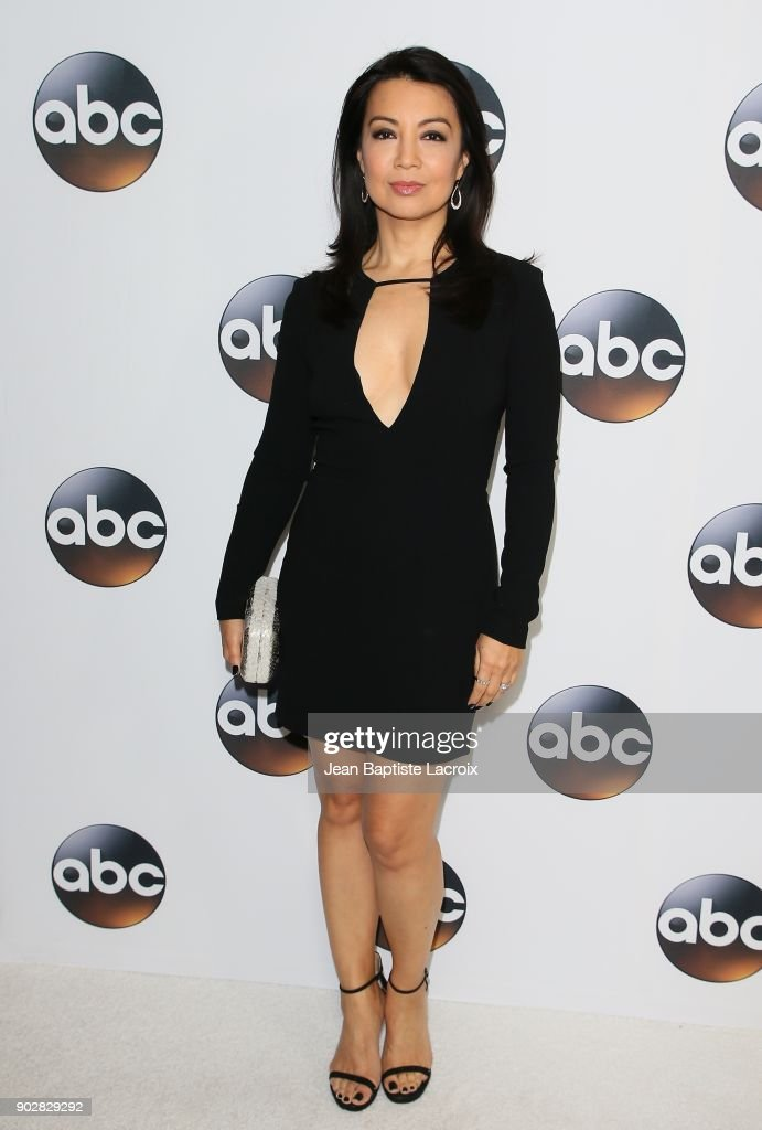Ming-Na Wen attends the Disney ABC Television Group Hosts TCA Winter Press Tour 2018 on January 8, 2018 in Pasadena, California.