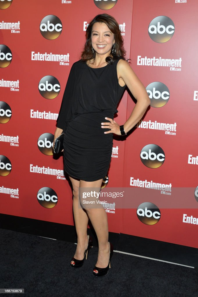Ming-Na Wen attends the Entertainment Weekly & ABC-TV Upfronts Party at The General on May 14, 2013 in New York City.