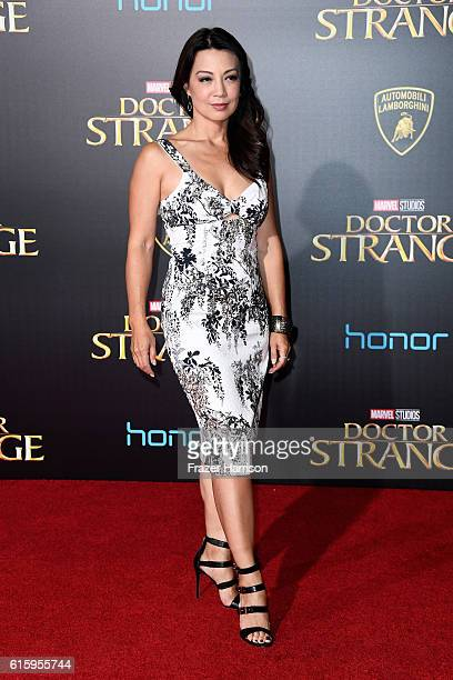 MingNa Wen attends the premiere of Disney and Marvel Studios' Doctor Strange at the El Capitan Theatre on October 20 2016 in Hollywood California