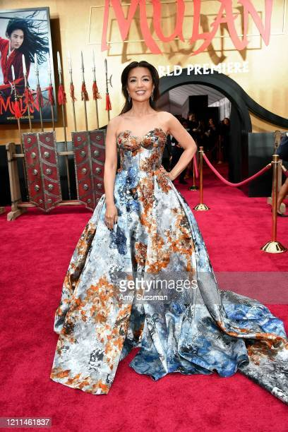 MingNa Wen attends the premiere of Disney's Mulan at Dolby Theatre on March 09 2020 in Hollywood California