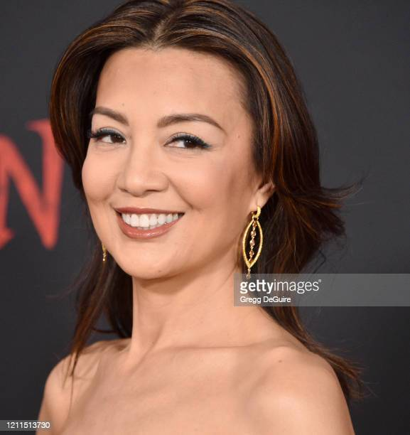 "Ming-Na Wen attends the Premiere Of Disney's ""Mulan"" on March 09, 2020 in Hollywood, California."