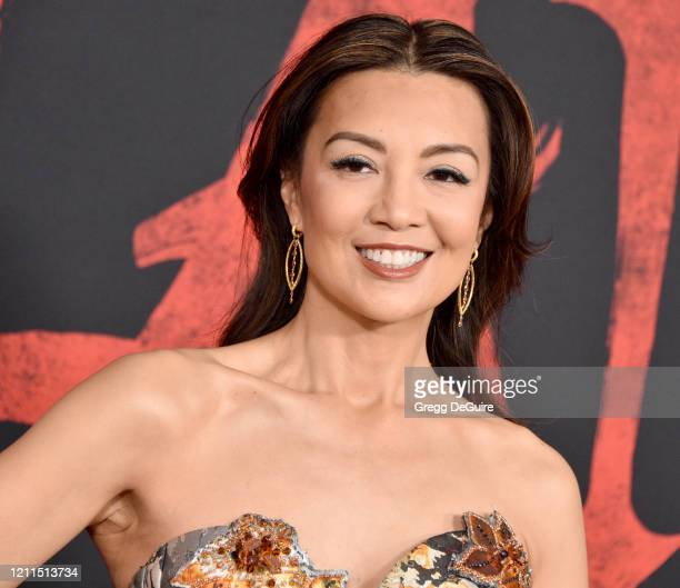 MingNa Wen attends the Premiere Of Disney's Mulan on March 09 2020 in Hollywood California