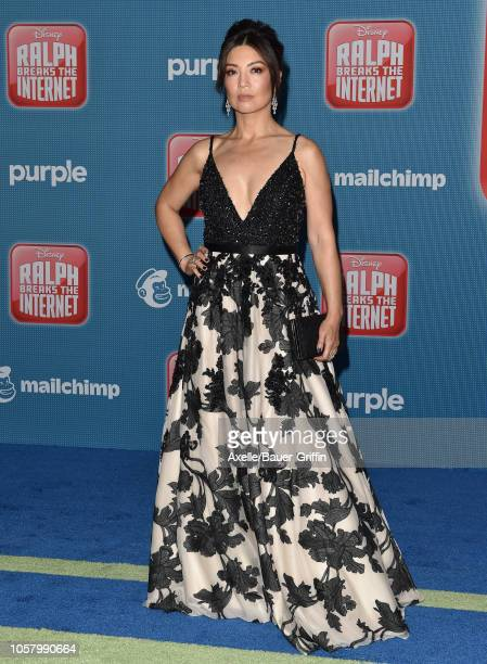 Ming-Na Wen attends the premiere of Disney's 'Ralph Breaks the Internet' at El Capitan Theatre on November 5, 2018 in Los Angeles, California.