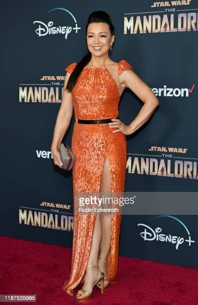 MingNa Wen attends the Premiere of Disney's The Mandalorian at El Capitan Theatre on November 13 2019 in Los Angeles California