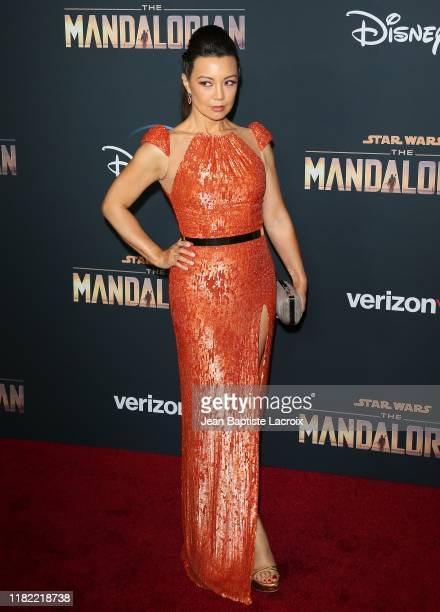 MingNa Wen attends the premiere of Disney's The Mandalorian at the El Capitan Theatre on November 13 2019 in Los Angeles California