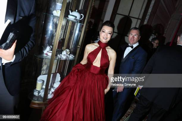 MingNa Wen attends the Tony Awards Gala at the Plaza on June 10 2018 in New York New York