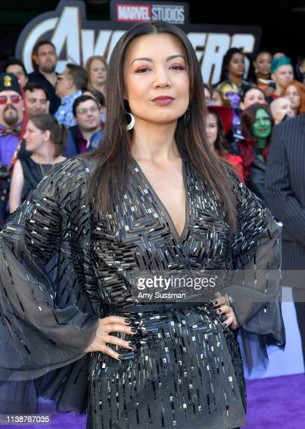MingNa Wen attends the world premiere of Walt Disney Studios Motion Pictures Avengers Endgame at the Los Angeles Convention Center on April 22 2019...