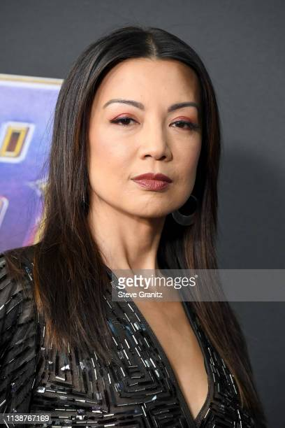 MingNa Wen attends the world premiere of Walt Disney Studios Motion Pictures 'Avengers Endgame' at the Los Angeles Convention Center on April 22 2019...