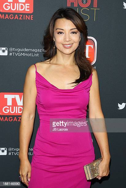 MingNa Wen attends TV Guide Magazine's Annual Hot List Party at The Emerson Theatre on November 4 2013 in Hollywood California