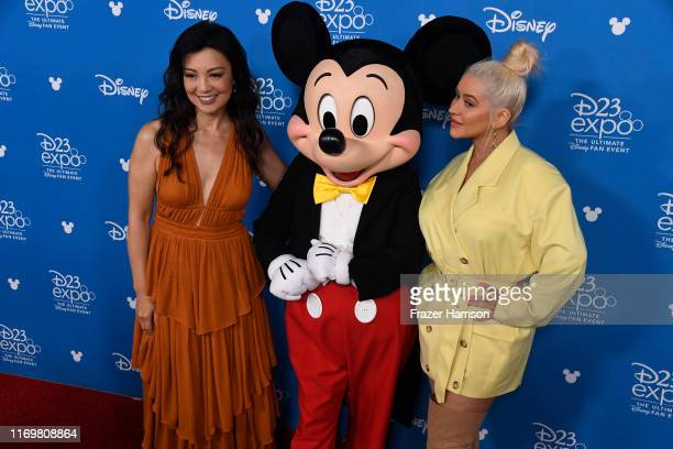 MingNa Wen Christina Aguilera attend D23 Disney Legends event at Anaheim Convention Center on August 23 2019 in Anaheim California