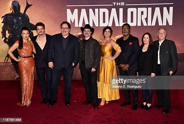 MingNa Wen Pedro Pascal Executive Producer Jon Favreau Executive Producer/Director Dave Filoni Gina Carano Carl Weathers Executive Producer Kathleen...