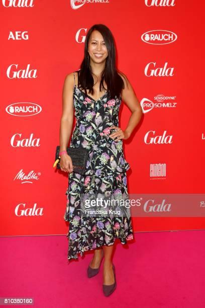 MinhKhai PhanThi attends the Gala Fashion Brunch during the MercedesBenz Fashion Week Berlin Spring/Summer 2018 at Ellington Hotel on July 7 2017 in...