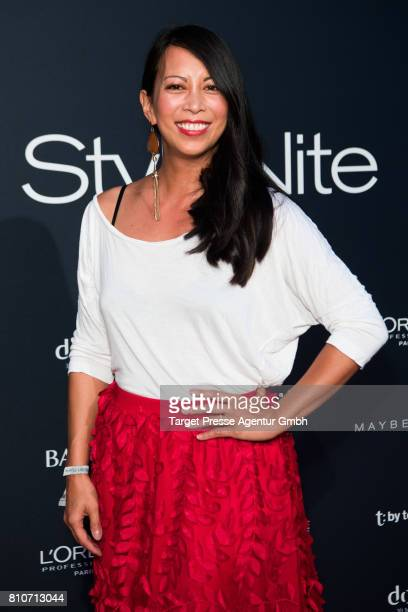 MinhKhai PhanThi attends the MICHALSKY StyleNite during the MercedesBenz Fashion Week Berlin Spring/Summer 2018 at eWerk on July 7 2017 in Berlin...