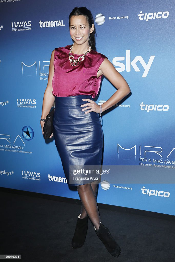 Minh-Khai Phan-Thi attends the Mira Award 2013 on January 24, 2013 in Berlin, Germany.