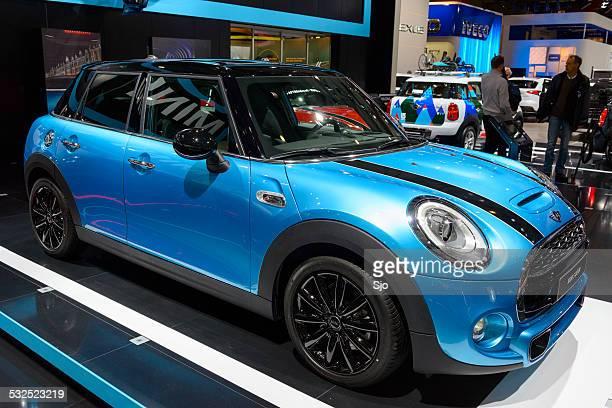 Mini 5 door compact hatchback car