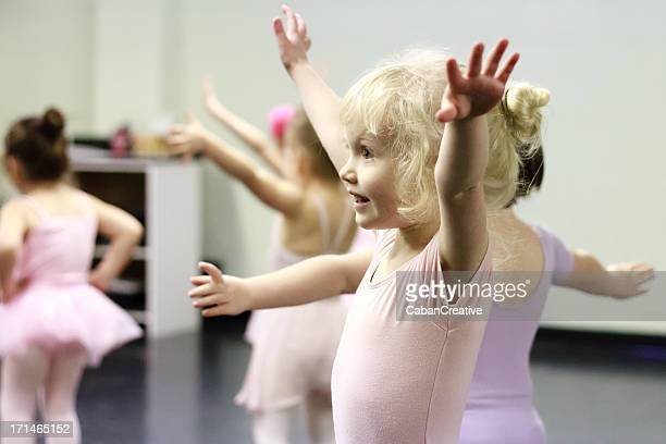 a mini ballerina - waist up stock pictures, royalty-free photos & images