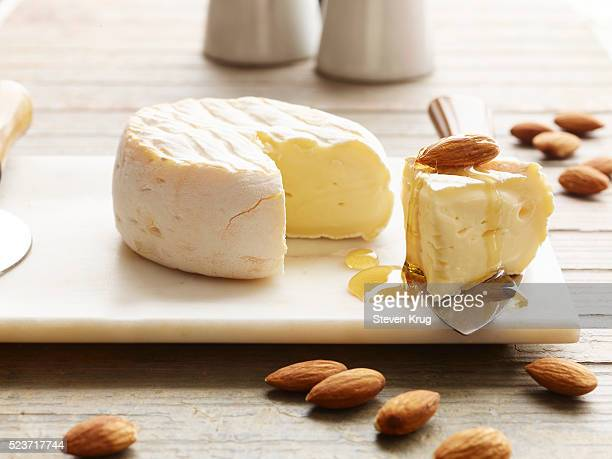 Mini Brie With Honey And Almond