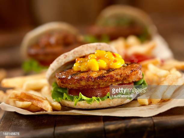 Mini Burger's with Sweet Corn Relish