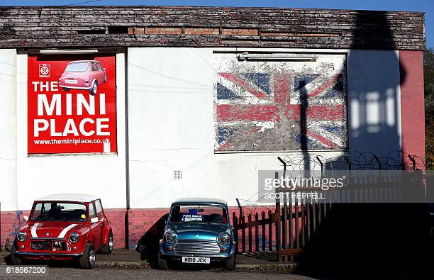 A Mini car dealership in Sunderland north east England on October 25 2016 Japanese car giant Nissan announced on October 27 2016 it will build its...